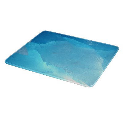 Blue Ice Cutting Board