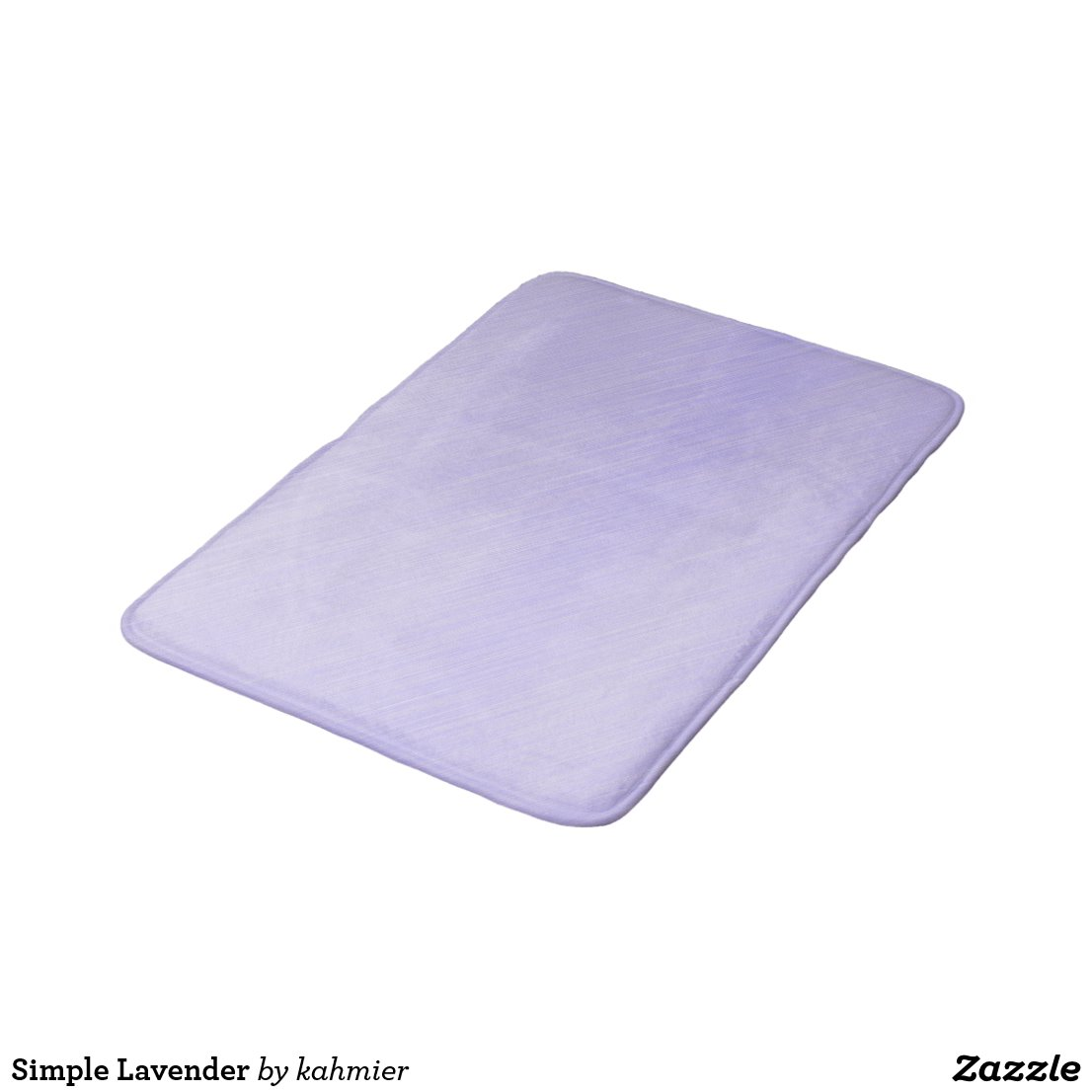 Simple Lavender Bath Mat