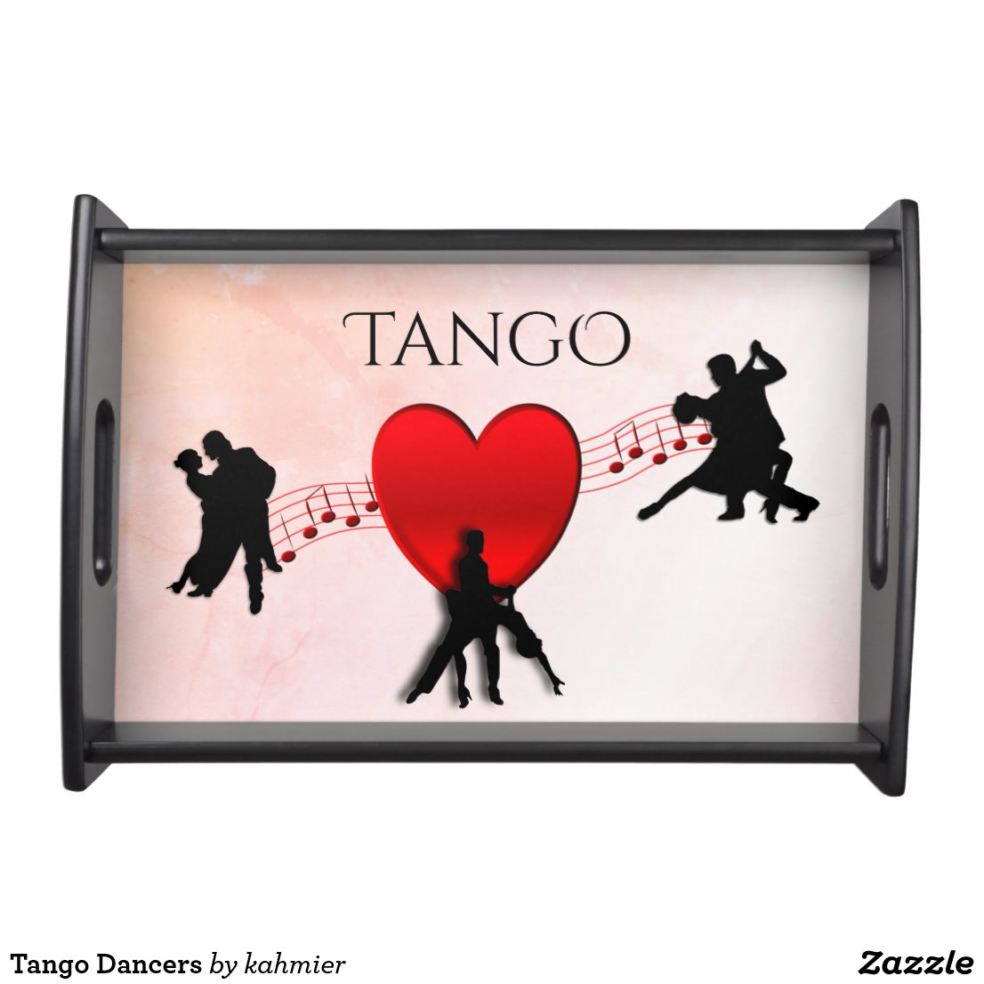 Tango Dancers Serving Tray