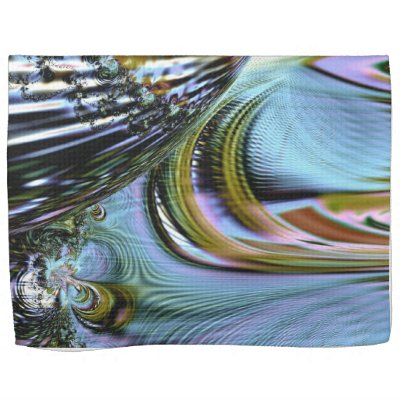 Colorful Crystal Kitchen Towel