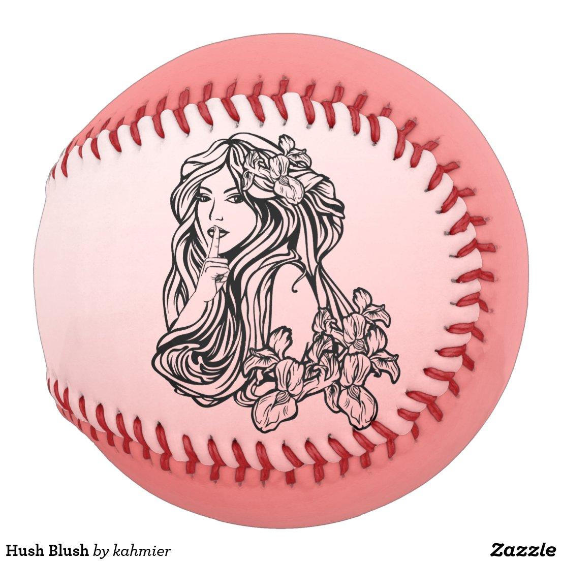 Hush Blush Softball